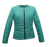 Куртка жакет женская мятная, фото 1