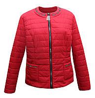 Куртка жакет женская красная, фото 1