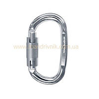 Карабин Singing Rock K4640PP lock oval TWL