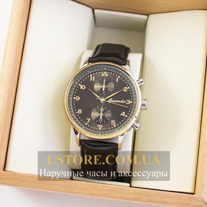 Мужские оригинальные часы Guardo silver grey 04738g-10601