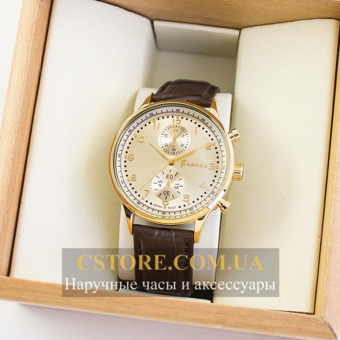 Мужские оригинальные часы Guardo gold gold 04740g-10601