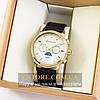 Мужские оригинальные часы Guardo gold white 04744g-6784