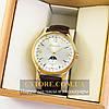 Мужские оригинальные часы Guardo gold white 04749g-10618