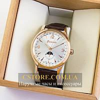 Мужские оригинальные часы Guardo gold white 04755g-10618, фото 1