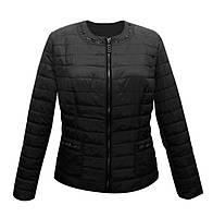 Куртка жакет женская чёрная