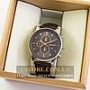 Мужские оригинальные часы Guardo silver brown 04760g-10602
