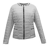 Куртка жакет женская белая, фото 1
