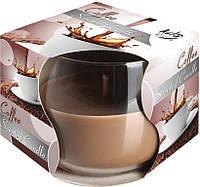 Ароматическая свеча в стекле BISPOL - Кофе №SN71S-89