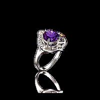 Красивое серебряное кольцо ЭРА 925пробы с накладками золота 375 пробы.Серебряное кольцо с золотой пластиной