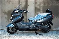 SUZUKI SKYWAVE 650 LX ABS L6 (новый) черный, фото 1