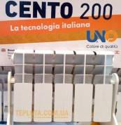 Радиатор биметаллический UNO Cento 200-100