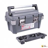INTERTOOL Ящик для инструмента с металлическими замками 20 & quot; 500x275x265 мм INTERTOOL BX-6020