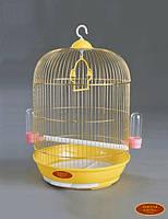 ЗК Клетка для птиц A309D Высокая золото 330*670