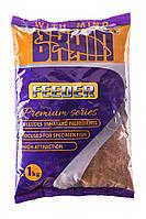Прикормка Brain 2015 PREMIUM FEEDER (премиум фидер) 1 kg
