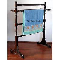 Деревянная вешалка для полотенец