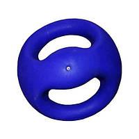 Мяч медицинский (медбол) с рукоятками MB6320P-6 6кг (верх-PVC, наполнитель-песок, d-20см, синий)*