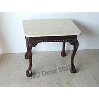 Стильный стол, мраморная столешница