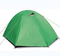 Палатка трехместная с тентом