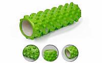 Роллер массажный (Grid Roller) для йоги, пилатеса, фитн