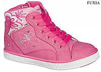 """Демисезонные ботинки для девочки 39/17""""American Club"""" (фуксия) размеры 26-30"""