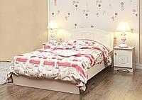 """Детская деревянная кровать """"Мишка 3"""" без ящиков (90x190 см) ТМ Вальтер-С Венге/Ваниль KM-1.09.1"""
