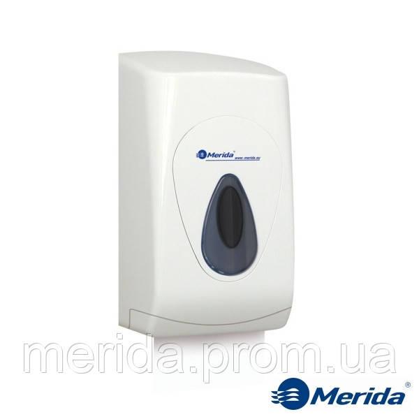 Держатель туалетной бумаги в листах ударопрочного abs пластика Merida Top (серая капля), Англия