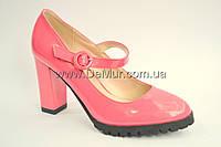 Туфли женские (36-41) Башили 946-2 розовые