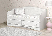 "Детский диван ""Kiddy"" (Размер: 90х190 см) ТМ Вальтер-С Белый D-5.09K5"