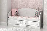 """Детский диван """"Мишка"""" (Размер: 70х140 см) ТМ Вальтер-С Белый D-5.07M5"""