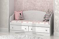 """Детский диван """"Мишка"""" (Размер: 90х190 см) ТМ Вальтер-С Белый D-5.09M5"""