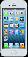 """Китайская копия iPhone 5, Android, 2 SIM, Wi-Fi, 2 Мп, дисплей 4"""" + мультитач. Белый"""