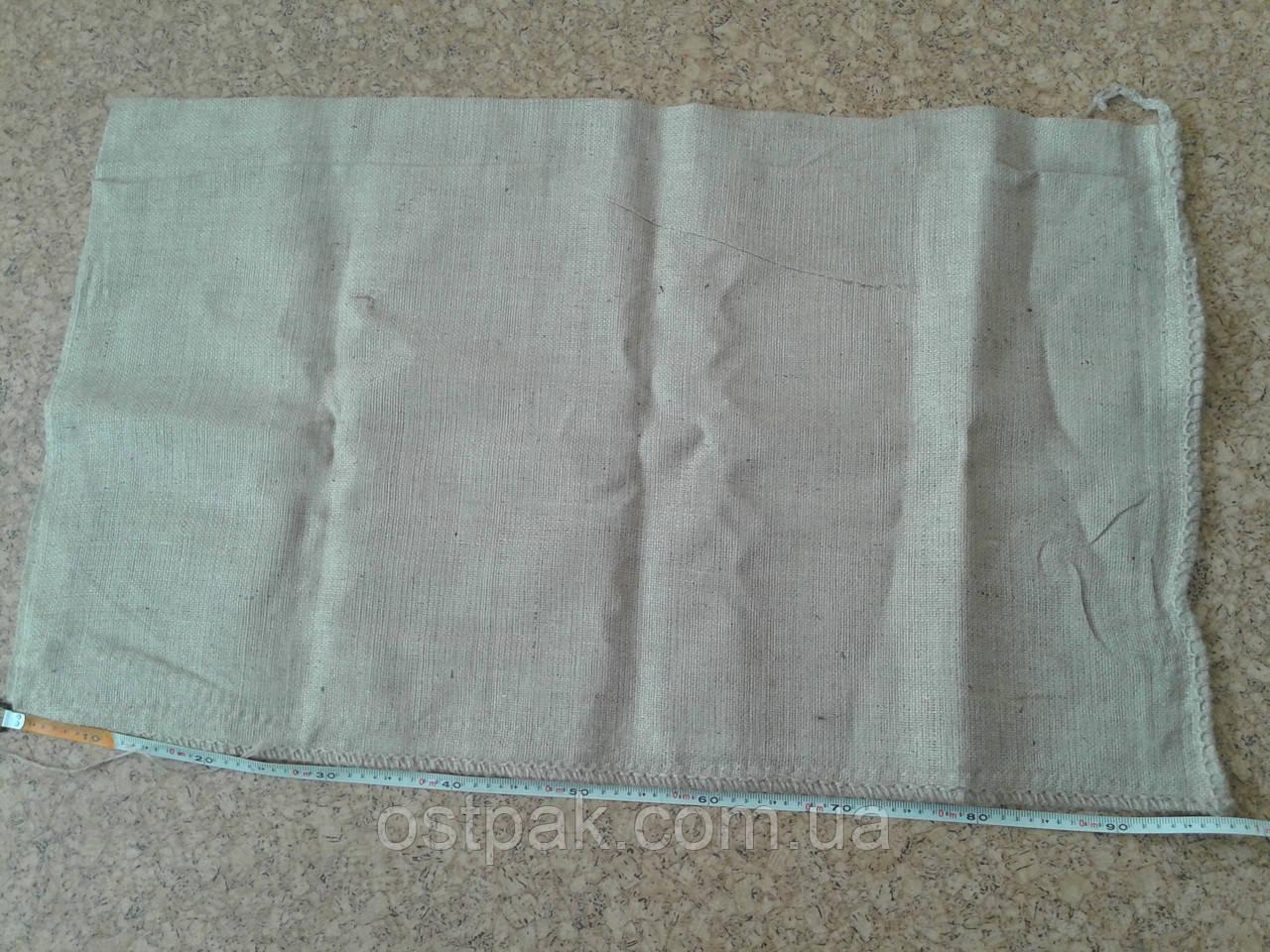 Джутовые мешки, б/у на 50-70 кг с печатью