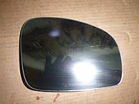 Зеркальный элемент правый Skoda Fabia 2 07-10 (Шкода Фабия), 5J0857522