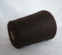 Мохер Linea Piu camelot Р3155, 1000 м, Шоколадный с легким золотистым меланжем