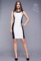 Элегантное платье из материала: стрейч-коттон