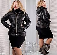 Женская куртка батал 00699