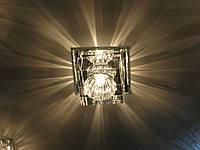 Декоративный точечный светильник Feron JD55 G9 прозрачн./жёлт., прозр./серый