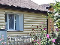Сайдинг стеновой под брус BlockHouse Альта-Профиль акриловый двухпереломный