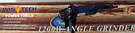 Болгарка Wintech WAG-150N/1200(150мм), фото 1