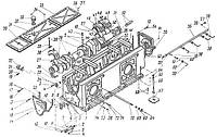 Рама с коленчатым валом компрессора 4ВМ10-120/9