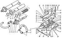 Холодильник маслянный и агрегат смазки 291-7А-1 компрессора 4ВМ10-120/9