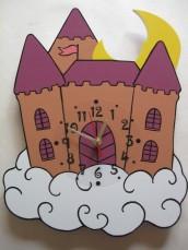 Детские настенные часы «Рыцарский замок», Funny Animals