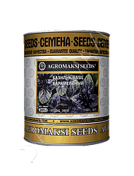 Семена базилика «Карамельный» (фиолетовый) 200 г, инкрустированные (Агромакси)