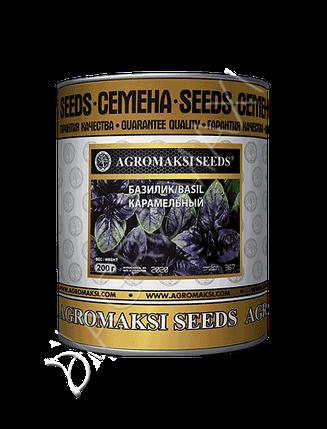 Семена базилика «Карамельный» (фиолетовый) 200 г, инкрустированные (Агромакси), фото 2