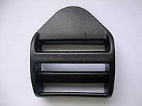 Пряжка регулировочная трёхщелевая 2.5 см