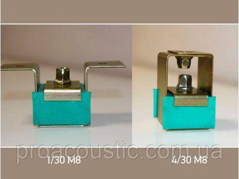 Виброизолирующие подвесы Шуманет-коннект 1/30 М8 и 4/30 М8, фото 2