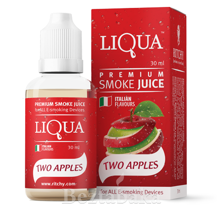 Двойное яблоко | Two apples - Liqua (0 мг | 30 мл)
