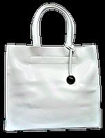 Стильная женская сумка GALANTY из натуральной кожи белого цвета SJR-028065