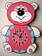 Детские настенные часы «Медвежонок», Funny Animals, фото 2