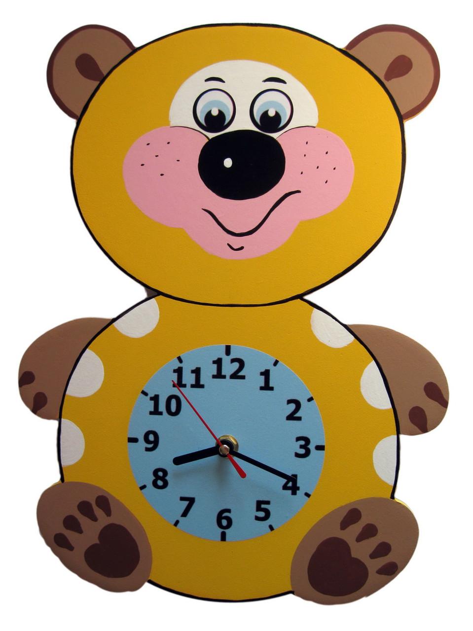 Детские настенные часы «Медвежонок», Funny Animals